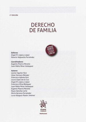 DERECHO DE FAMILIA 2ª EDICIÓN 2017