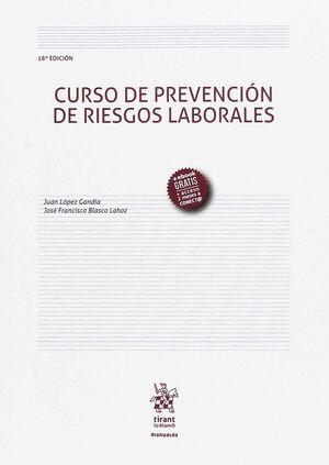 CURSO DE PREVENCIÓN DE RIESGOS LABORALES 18ª EDICIÓN 2017