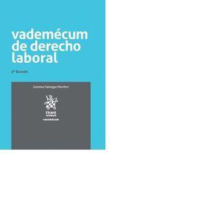 VADEMÉCUM DE DERECHO LABORAL 5ª EDICIÓN 2017