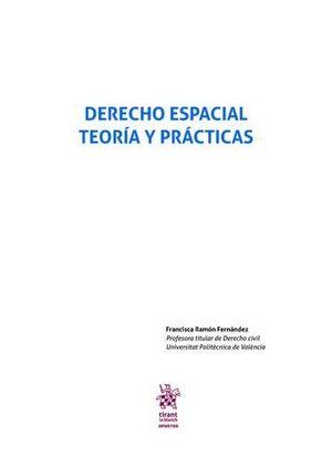 DERECHO ESPACIAL TEORÍA Y PRÁCTICAS