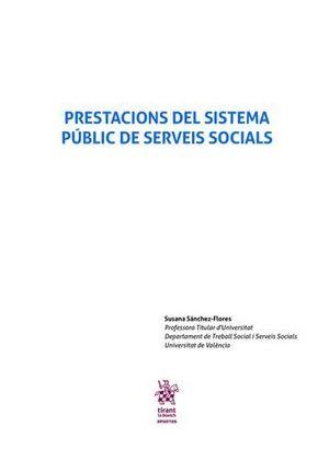 PRESTACIONS DEL SISTEMA PÚBLIC DE SERVEIS SOCIALS