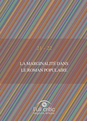 LA MARGINALITÉ DANS LE ROMAN POPULAIRE