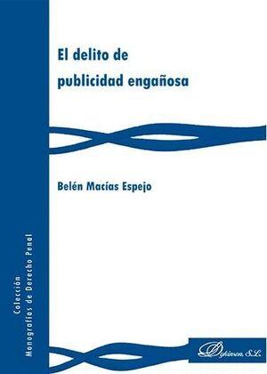 EL DELITO DE PUBLICIDAD ENGAÑOSA