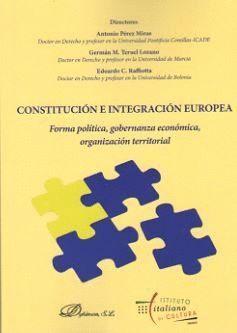 CONSTITUCIÓN E INTEGRACIÓN EUROPEA