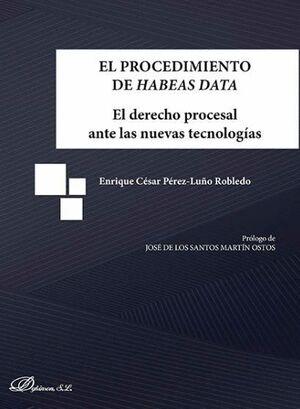 EL PROCEDIMIENTO DE HABEAS DATA