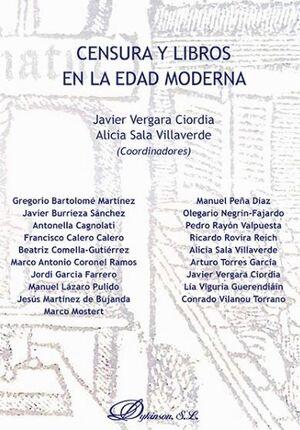 CENSURA Y LIBROS EN LA EDAD MODERNA