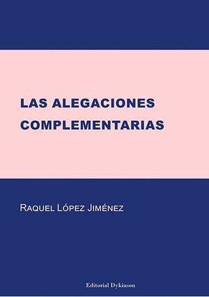 LAS ALEGACIONES COMPLEMENTARIAS