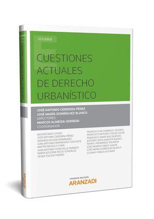 CUESTIONES ACTUALES DE DERECHO URBANÍSTICO