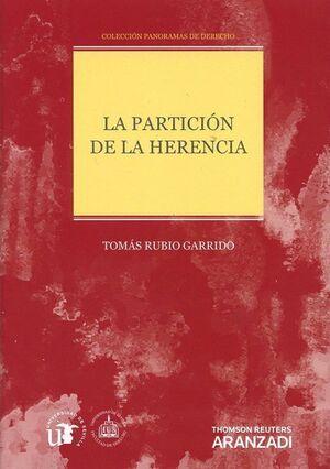 PARTICION DE LA HERENCIA, LA