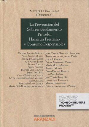 PREVECION DEL SOBREENDEUDAMIENTO PRIVADO HACIA UN PRESTAMO Y CONSUMO RESPONSABLE