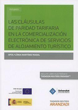 CLAUSULAS DE PARIDAD TARIFARIA EN LA COMERCIALIZACION ELECTRONICA