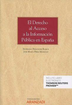 DERECHO AL ACCESO A LA INFORMACION PUBLICA EN ESPAÑA DUO