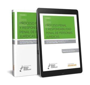 PROCESO PENAL Y RESPONSABILIDAD PENAL DE PERSONAS JURÍDICAS (PAPEL + E-BOOK)
