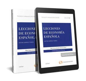 LECCIONES DE ECONOMÍA ESPAÑOLA (PAPEL + E-BOOK)