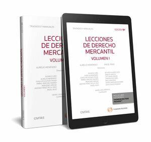 LECCIONES DE DERECHO MERCANTIL VOL I 2017