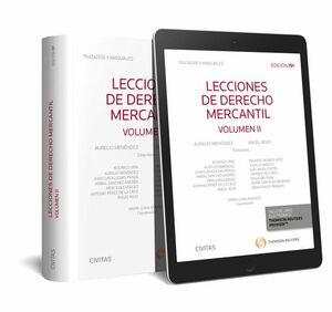 LECCIONES DE DERECHO MERCANTIL VOL II 2017