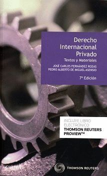 (7º) DERECHO INTERNACIONAL PRIVADO (DUO)