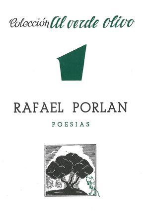 RAFAEL PORLÁN. POESÍAS