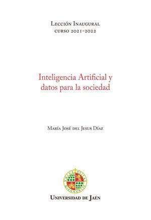 INTELIGENCIA ARTIFICIAL Y DATOS PARA LA SOCIEDAD