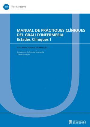 MANUAL DE PRÀCTIQUES CLÍNIQUES DEL GRAU D'INFERMERIA