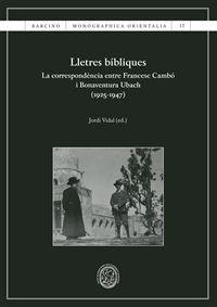 LLETRES BÍBLIQUES
