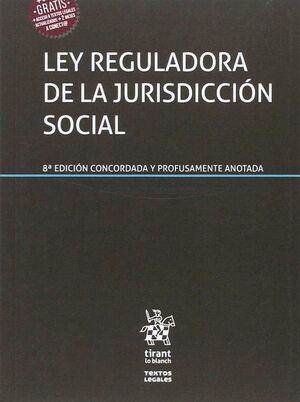 LEY REGULADORA DE LA JURISDICCIÓN SOCIAL 8ª EDICIÓN 2017