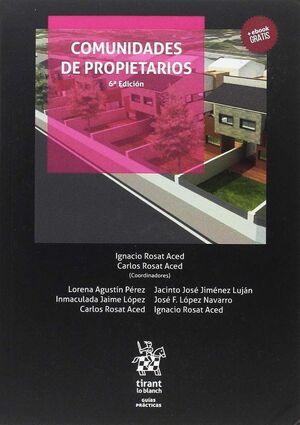 COMUNIDADES DE PROPIETARIOS 6ª EDICIÓN 2017
