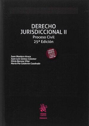 DERECHO JURISDICCIONAL II PROCESO CIVIL 25ª EDICIÓN 2017
