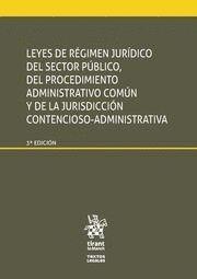 LEYES DE REGIMEN JURIDICO DEL SECTOR PUBLICO, DEL PROCEDIMIENTO A