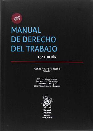 MANUAL DE DERECHO DEL TRABAJO 15ª EDICIÓN 2017