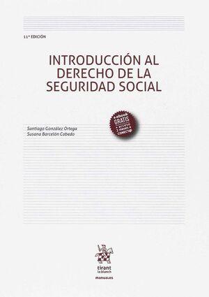 INTRODUCCIÓN AL DERECHO DE LA SEGURIDAD SOCIAL 11ª EDICIÓN 2017