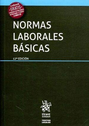 NORMAS LABORALES BÁSICAS 12ª EDICIÓN 2017