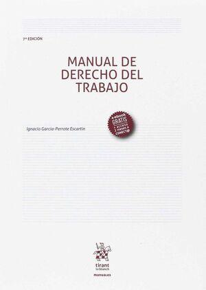 MANUAL DE DERECHO DEL TRABAJO 7ª EDICIÓN 2017
