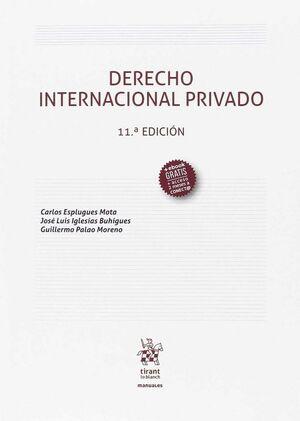 DERECHO INTERNACIONAL PRIVADO 11ª EDICIÓN 2107