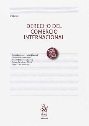 DERECHO DEL COMERCIO INTERNACIONAL 8ª EDICIÓN 2017
