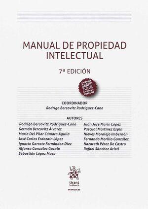 MANUAL DE PROPIEDAD INTELECTUAL 7ª ED. 2017
