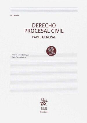 DERECHO PROCESAL CIVIL PARTE GENERAL 9ª EDICIÓN 2017