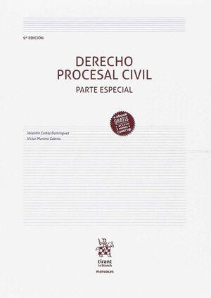 DERECHO PROCESAL CIVIL PARTE ESPECIAL 9ª EDICIÓN