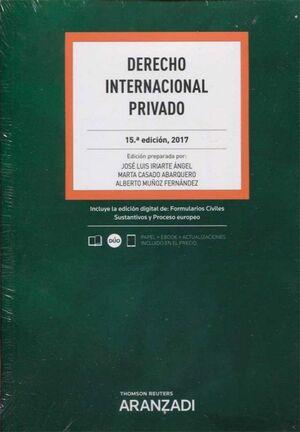 DERECHO INTERNACIONAL PRIVADO 2017