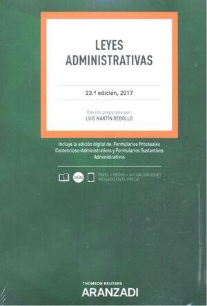 CÓDIFO LEYES ADMINISTRATIVAS 2017