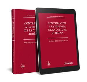 CONTRIBUCIÓN A LA HISTORIA DE LA CULTURA JURÍDICA (PAPEL + E-BOOK) COLECCIÓN PANORAMA DE DERECHO VI