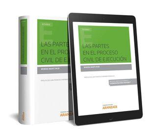 LAS PARTES EN EL PROCESO CIVIL DE EJECUCION (PAPEL + E-BOOK)