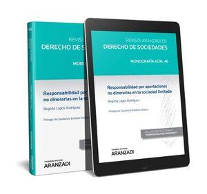 RESPONSABILIDAD POR APORTACIONES NO DINERARIAS EN LA SOCIEDAD LIMITADA (PAPEL +