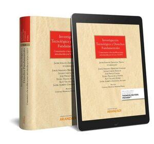 INVESTIGACION TECNOLOGICA Y DERECHOS FUNDAMENTALES (PAPEL + E-BOOK) COMENTARIOS A LAS MODIFICACIONES