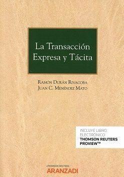 TRANSACCIÓN EXPRESA Y TÁCITA (DUO), LA