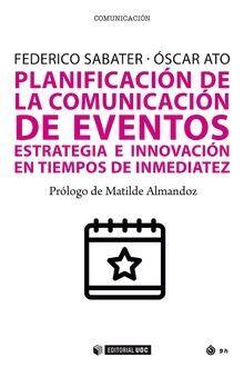 PLANIFICACIÓN DE LA COMUNICACIÓN DE EVENTOS