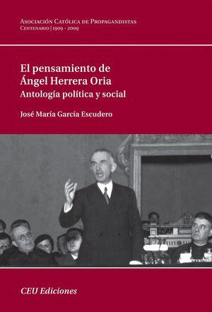 EL PENSAMIENTO DE ÁNGEL HERRERA ORIA