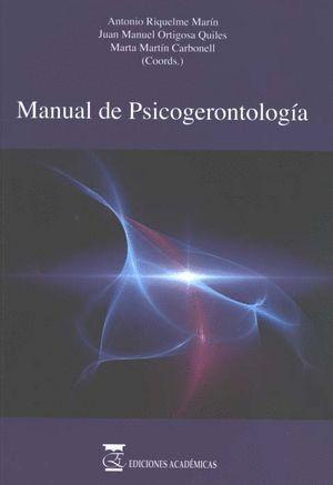 MANUAL DE PSICOGERONTOLOGÍA.