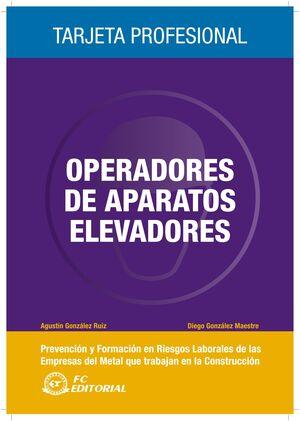 OPERADORES DE APARATOS ELEVADORES