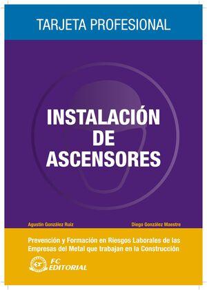 INSTALACIONES DE ASCENSORES